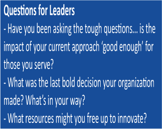 Questions for Leaders
